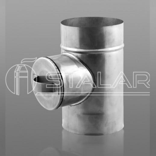 Ревизия 150 мм  одностенная нержавеющая сталь Тернополь