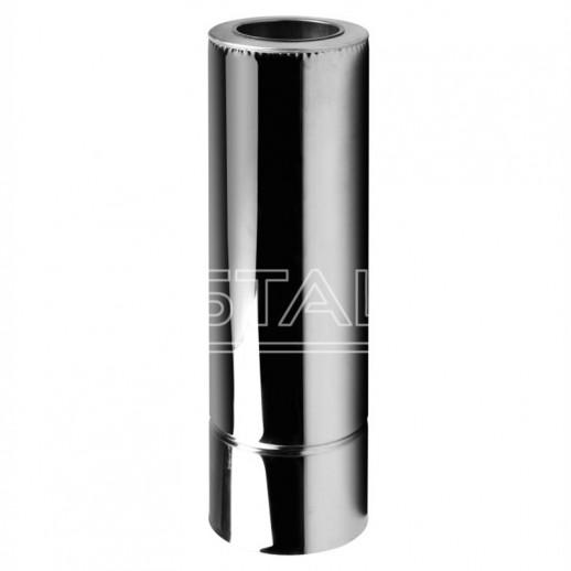 Дымоход для котла труба 120x180 нерж/нерж 0,5 мм Тернополь