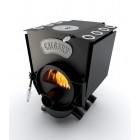 Канадская печь Calgary Lux K 7 кВт с конфоркой Тернополь