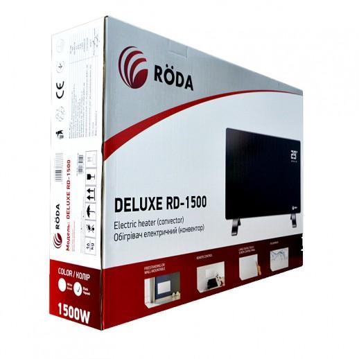 Электроконвектор RODA Deluxe 2000 Black Тернополь